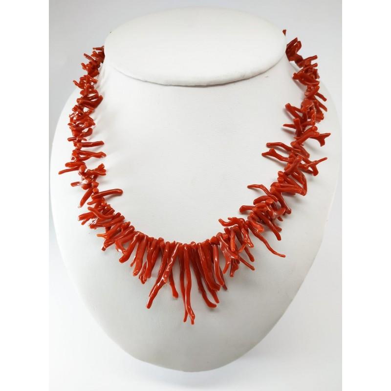 Collana frangia di corallo