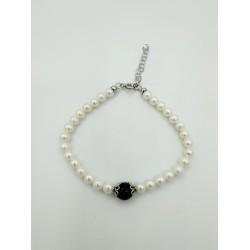 Bracciale perle e su coccu