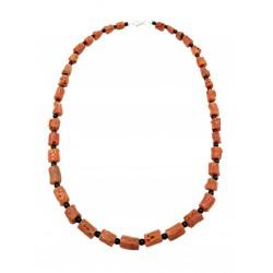 Collana INKA corallo